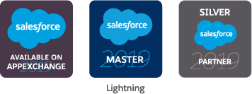 2019 Three logo partner appexchange lightning